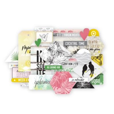 Die cuts long courrier