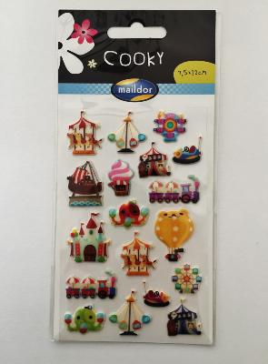 Stickers cooky manèges