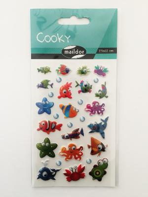 Stickers cooky poissons